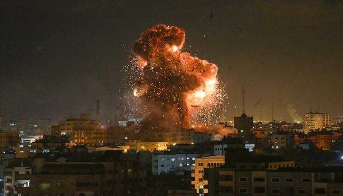 غارات إسرائيلية على غزة لقصف مواقع حماس