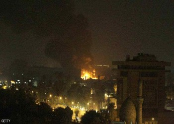 الثاني في أسبوع.. هجوم صاروخي على المنطقة الخضراء ببغداد (فيديو)