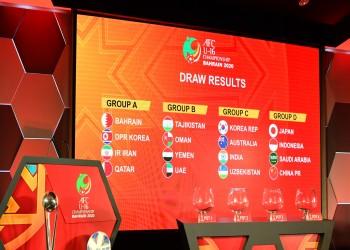 البحرين تواجه قطر والسعودية ضد اليابان بكأس آسيا للناشئين