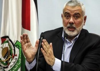 هنية يدعو العرب والمسلمين لمواجهة خطط ضم الضفة