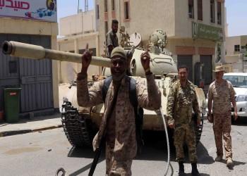 دعوة فرنسية ألمانية إيطالية لوقف إطلاق النار في ليبيا