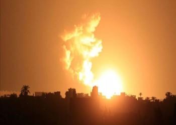 غارات إسرائيلية مكثفة على قطاع غزة دون إصابات