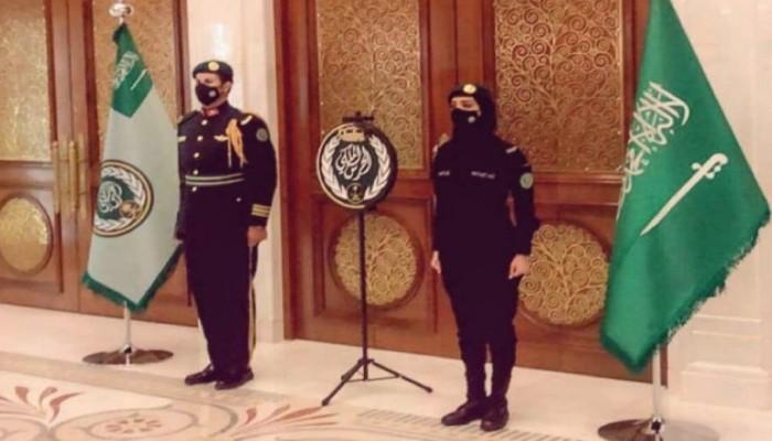 تجدد الجدل حول سيدة الحرس الملكي السعودي (فيديو)