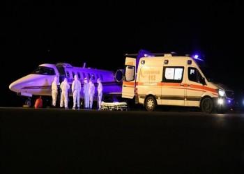 طائرة إسعاف لنقل تركيين اثنين مصابين بكورونا من روسيا