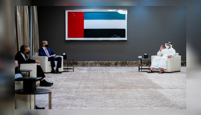 وزير الخارجية الإماراتي يدين تدخلات إيران وحلفائها بدول المنطقة