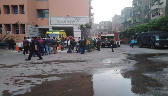 مصرع 7 مرضى في حريق بمستشفى في مصر