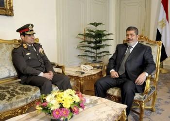 السيسي يهاجم مرسي وموقع الرئاسة المصرية يوثق فترة حكمه
