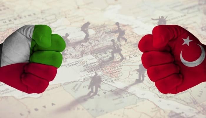 التنافس التركي الإماراتي.. من ليبيا إلى سوريا