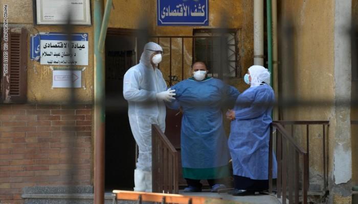 1557 إصابة و81 حالة وفاة جديدة بكورونا في مصر