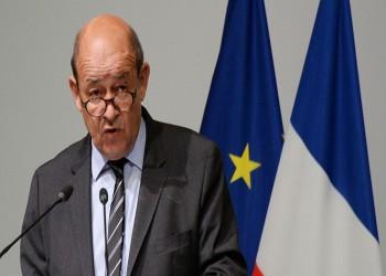 وزير خارجية فرنسا لا يستبعد فرض عقوبات على تركيا