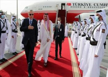 أردوغان يصل إلى الدوحة للقاء أمير قطر