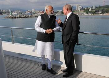 رئيس وزراء الهند يهنئ بوتين بنجاح تعديلاته الدستورية