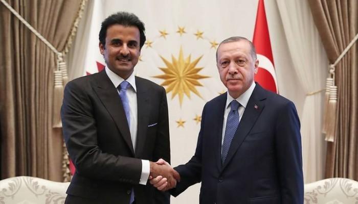 أردوغان: بحثت مع أمير قطر جميع قضايا المنطقة