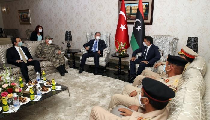 اتفاق تركي ليبي على إنشاء مراكز تدريب لبناء جيش محترف