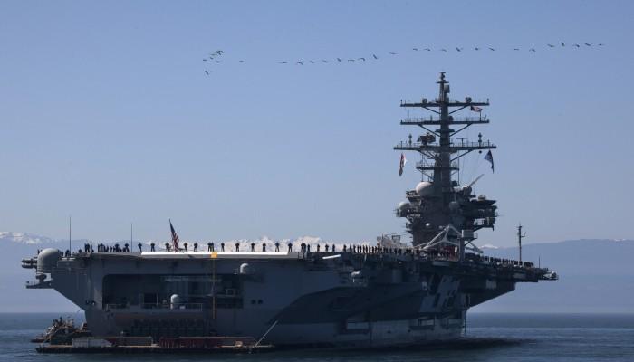 بحاملتا طائرات.. أمريكا تصعد عسكريا في بحر الصين الجنوبي