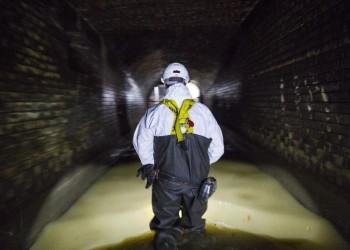 اختبار لمياه الصرف الصحي يكشف البؤر الساخنة لكورونا