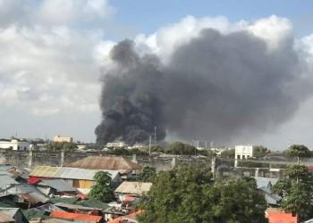 إصابة 5 جنود في انفجار ضخم قرب الميناء بمقديشو