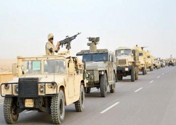 قتيل و3 إصابات بالجيش المصري إثر تفجير عبوة ناسفة شمال سيناء