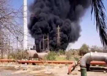 بعد سلسلة حوادث مماثلة.. حريق في محطة طاقة إيرانية