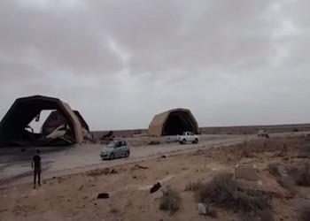 أنباء عن غارات مجهولة ضد منظومات تركية بقاعدة الوطية الليبية