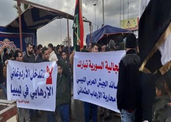 صحفي ليبي: المخابرات المصرية تشرف على مظاهرة ضد تركيا ببنغازي