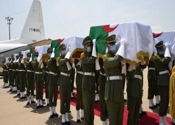 الجزائر تشهد دفن رفات قادة المقاومة الشعبية بمراسم رسمية