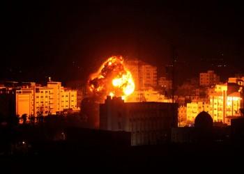 غارات إسرائيلية ليلية على غزة.. والاحتلال: ردا على صواريخ للمقاومة
