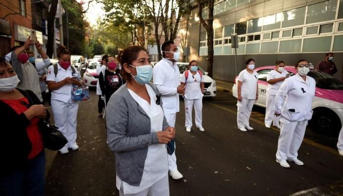 ارتفاع قياسي بعدد مصابي كورونا في المكسيك