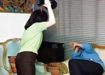 كويتي مستنجدا بالشرطة: زوجتي تضربني