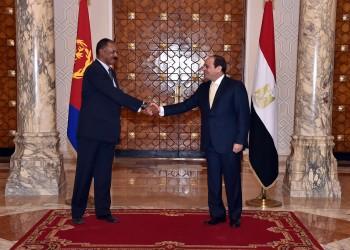 السيسي يستقبل رئيس إريتريا لبحث التعاون وسد النهضة