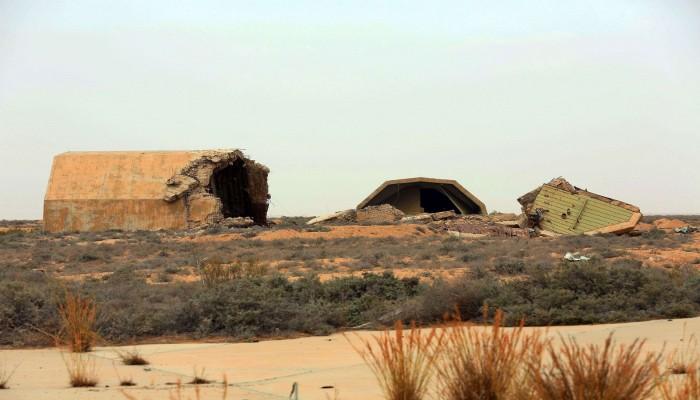 ناشطون يتهمون قناة العربية بفبركة مقطع قصف الوطية الليبية