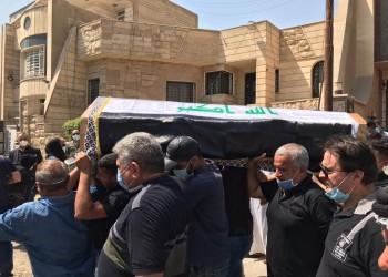 تشييع جثمان الخبير الأمني هشام الهاشمي في بغداد (فيديو)