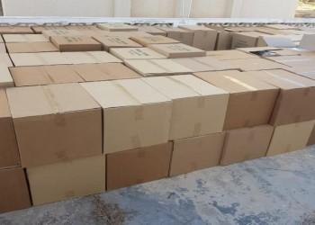 الشرطة العمانية تضبط 30 ألف صندوق سجائر مهربة
