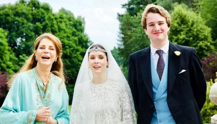 زوج الأميرة راية بنت الحسين اعتنق الإسلام قبل زواجهما