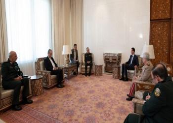 الأسد يعرب عن ارتياحه لتوقيع اتفاقية عسكرية شاملة مع إيران