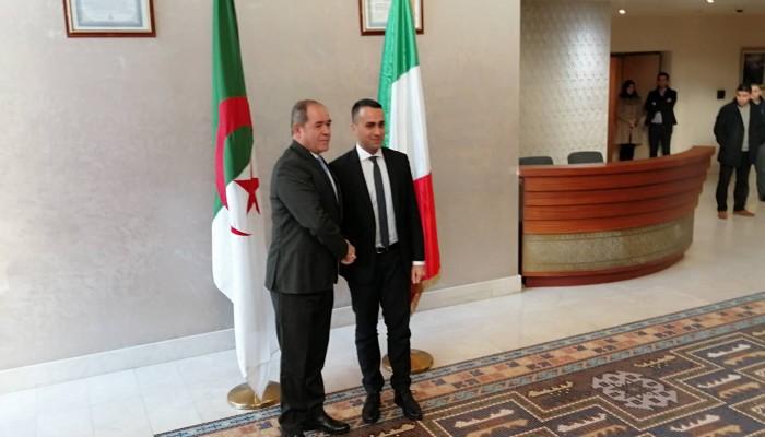الجزائر وإيطاليا تدعوان لوقف إطلاق النار في ليبيا