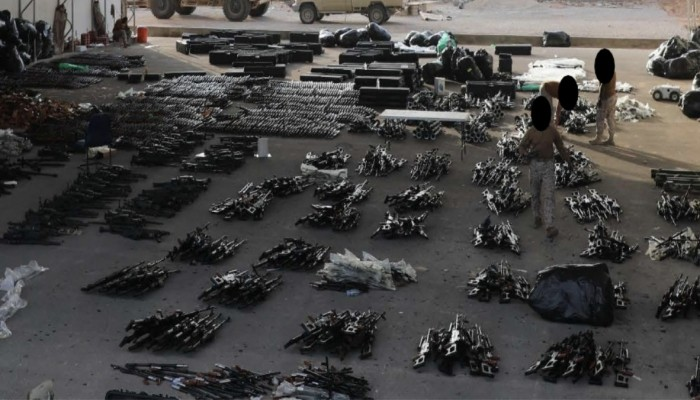 أمريكا تعلن ضبط شحنة أسلحة قبل وصولها إلى الحوثيين