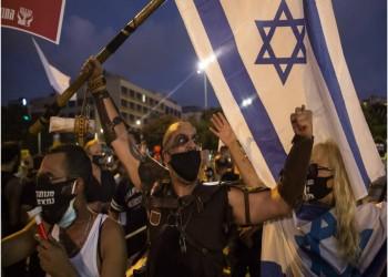 آلاف الإسرائيليين يتظاهرون احتجاجا على الإغلاق بسبب كورونا