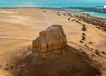وجهة ساحرة.. جبل المدورة بمصر عمره 45 مليون عام