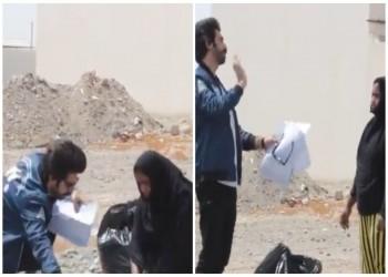 """شرطة عمان توقف ناشطا شهيرا بعد """"مقلب"""" في خادمة"""