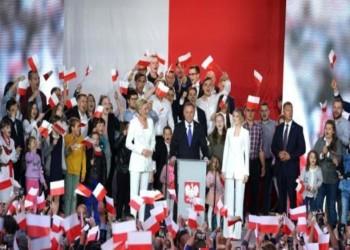 الرئيس البولندي المحافظ أندريه دودا يفوز بولاية ثانية