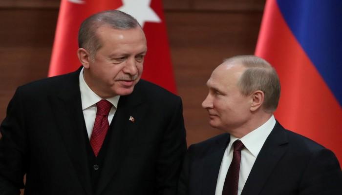 بوتين يبحث مع أردوغان وتبون الأوضاع في ليبيا