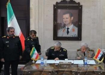 طهران تكشف تفاصيل الاتفاقية العسكرية مع نظام الأسد