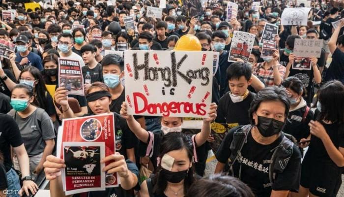 ترامب يلغي معاملة تفضيلية لهونج كونج: لم تعد تتمتع بحكم ذاتي
