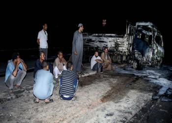 الحكومة المصرية تعوض المتضررين من حريق ضخم