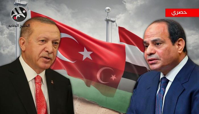حصري.. الخليج الجديد يكشف تفاصيل مباحثات مصرية تركية حول ليبيا