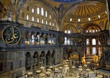 تركيا توقع بروتوكولا يبقي آيا صوفيا ضمن التراث العالمي