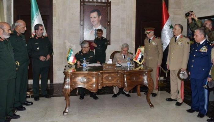 معهد إسرائيلي: ماذا وراء الاتفاق العسكري الأخير بين إيران والنظام السوري؟