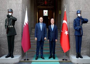 وزير الدفاع التركي يلتقي نظيره القطري بأنقرة ويشكر الدوحة بسبب ليبيا