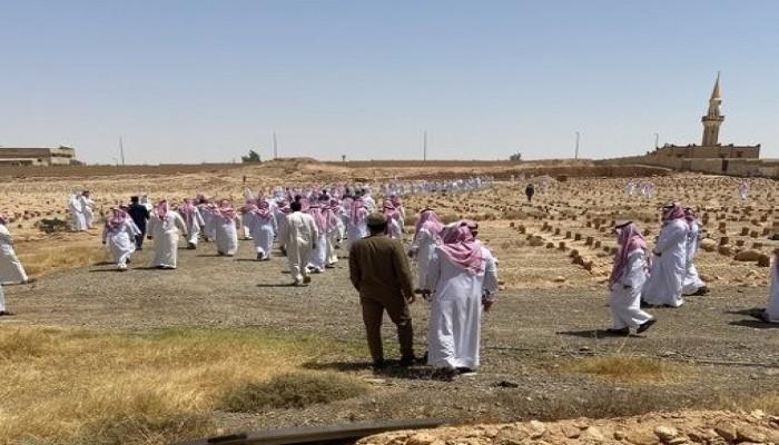 جثمان الإعلامي السعودي صالح الشيحي يوارى الثرى في رفحاء